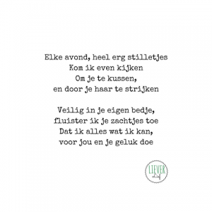 Uitzonderlijk Lieverlief – Kleine rijmpjes en gedichtjes #XH75